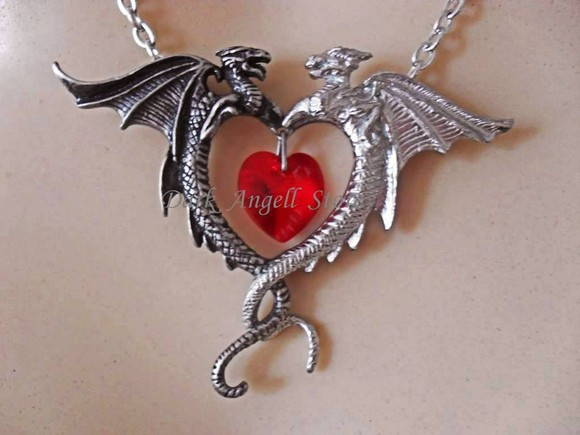 RESERVADO ~ Duality Heart necklace