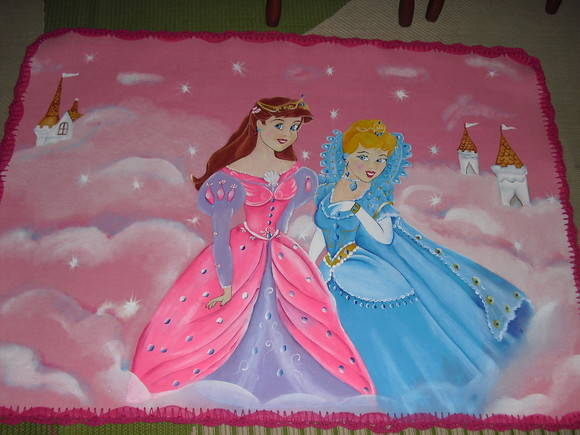Tapete  as Princesas