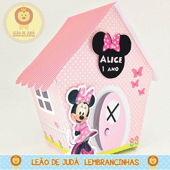 Casinha Minnie modelo 2