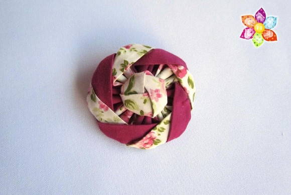 Broche Intercalado Rosa