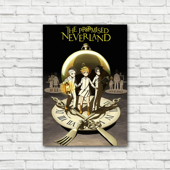 Placa Decorativa The Promised Neverland