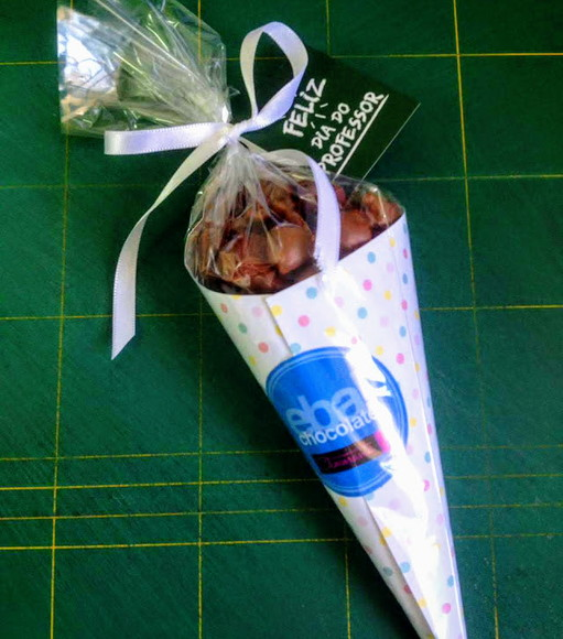 Pipocone - s/person - choc belga