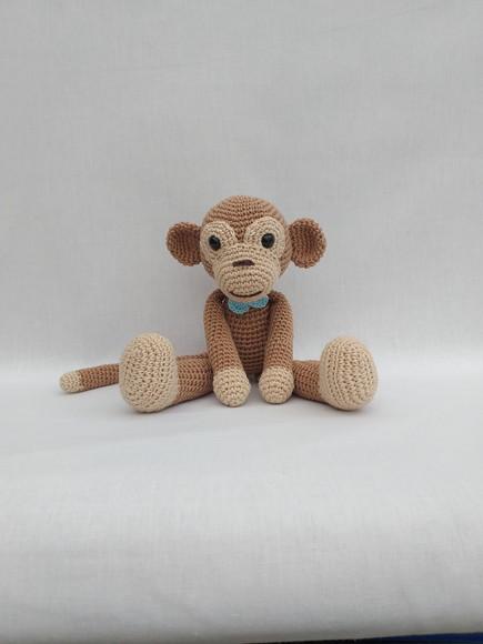 Macaco de crochê (Amigurumi) no Elo7 | EMPORIUM AMIGURUMI (E33CAA) | 580x435