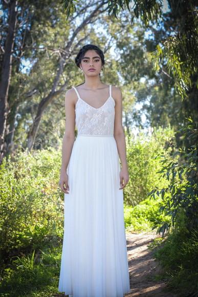 Mega Promoção Vestido Noiva Boho Erva Doce Sob Medida no
