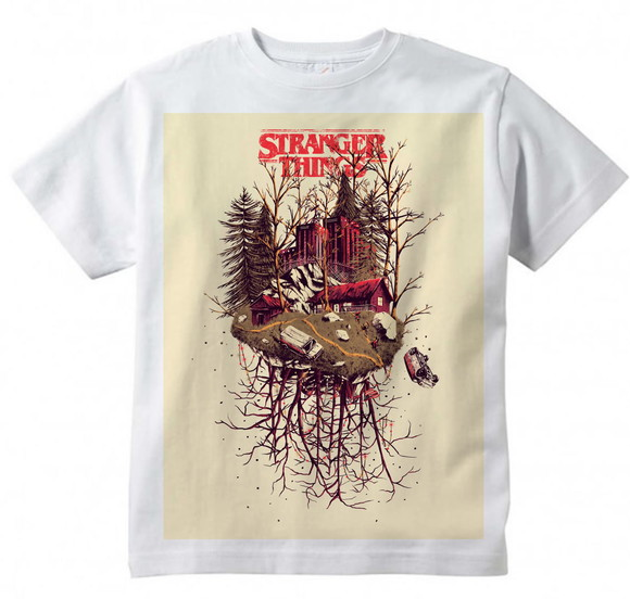 Camiseta Infantil Stranger Things - Modelo 2