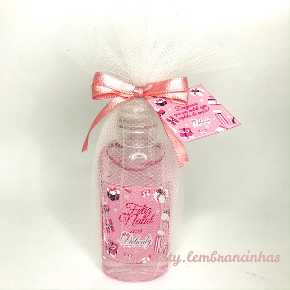 Mini Álcool Gel 60 ml Feliz Natal