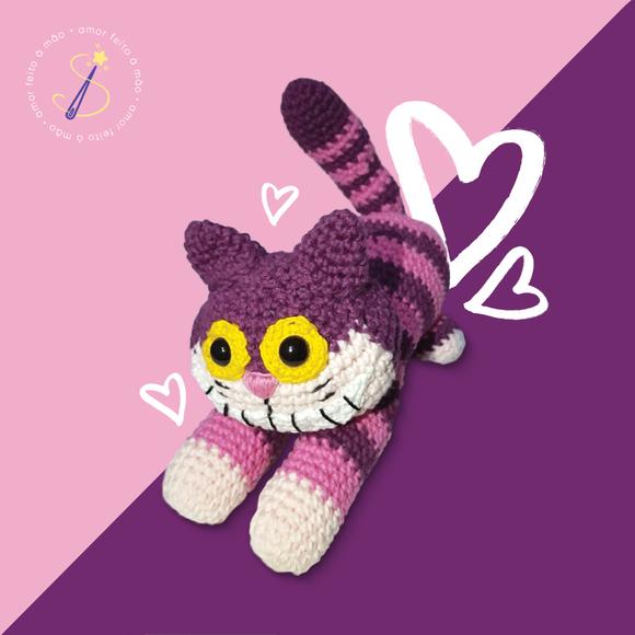 Cheshire Cat Plush Toy Hand-Knitted Cheshire Toy Handmade ... | 580x580