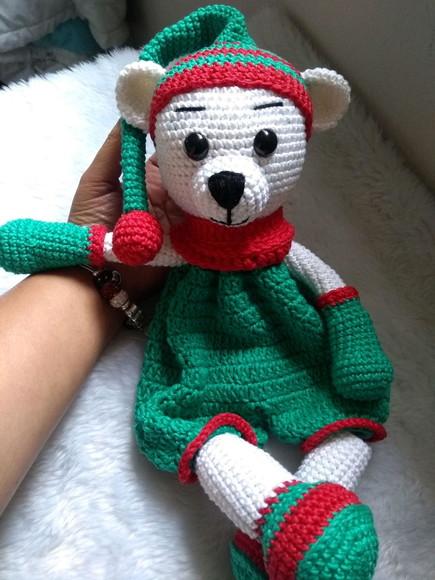 Amigurumi Ursinha de Croche com Grafico e Receita | Urso de crochê ... | 580x435