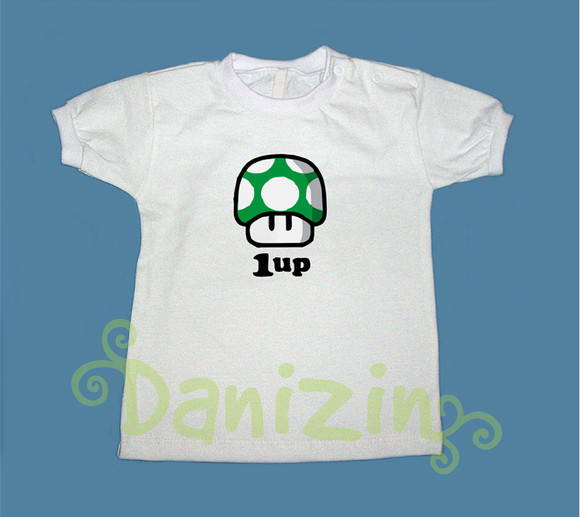 T-Shirt Bebê e Infantil ONE UP