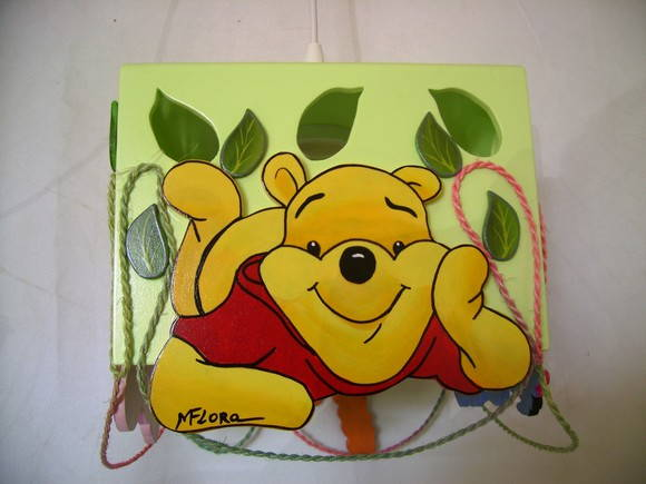 Lustre TURMA DO POOH