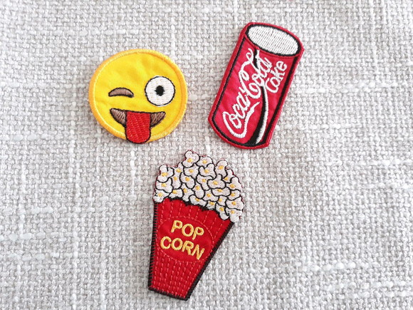 Patches Emoji Cinema