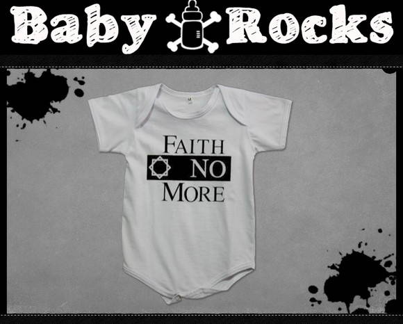 BODY OU CAMISETINHA FAITH NO MORE