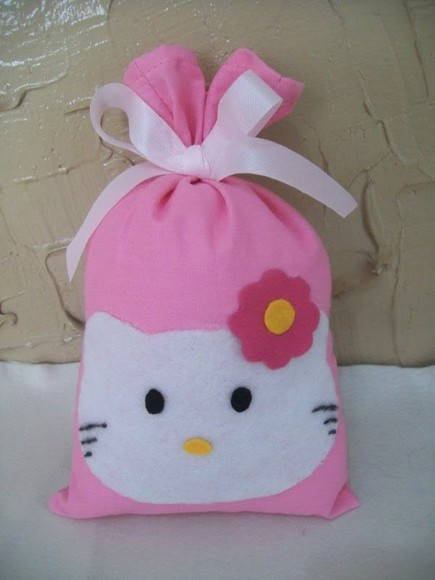 Sacolinha surpresa Hello Kitty