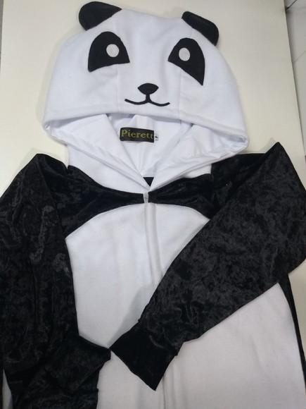Pijama Urso Panda Elo7