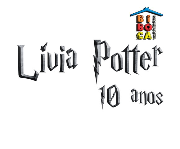 Logotipo Personalizado - Harry Potter