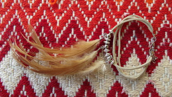 Pulseira Boho Feather