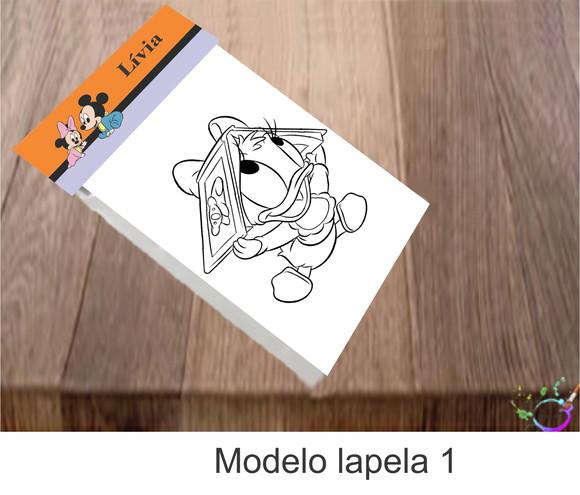 Desenhos Para Colorir Mickey Baby Elo7
