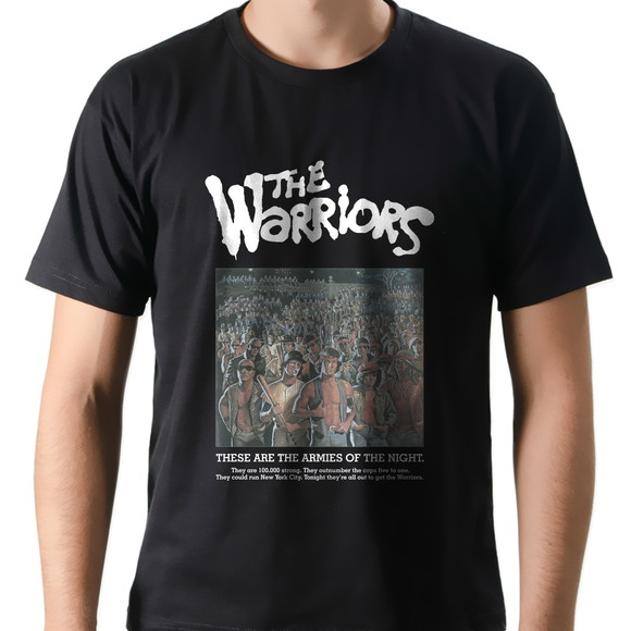 Camiseta Camisa Cinema Filme The Warriors Pôster