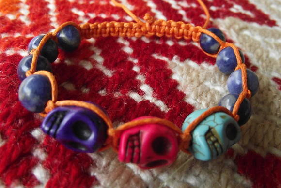 Shambala Skulls Color Blocking