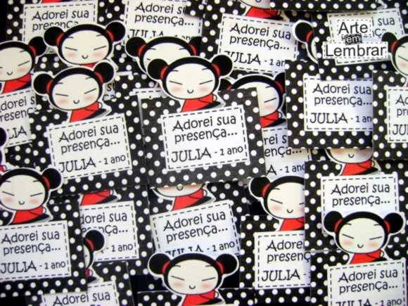 TAGS SCRAPBOOK - PUCCA