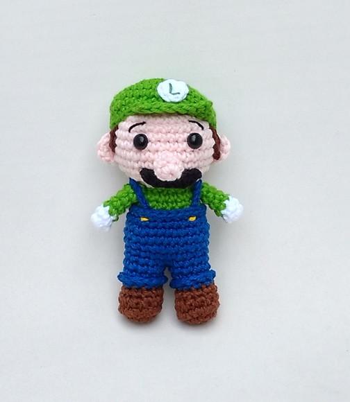 Crochet Nintendo Luigi Amigurumi by CrystalPennyCreation on Etsy ... | 580x504