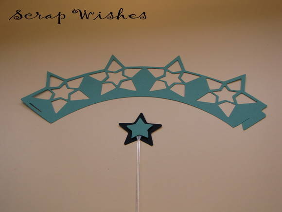 Wrap e topper Star 2 Azul
