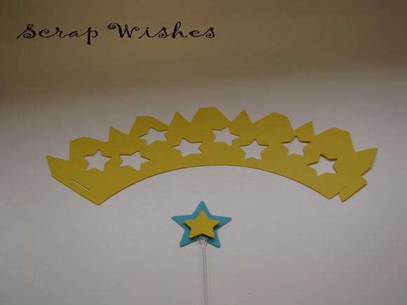 Wrap e topper Star 3 Amarelo