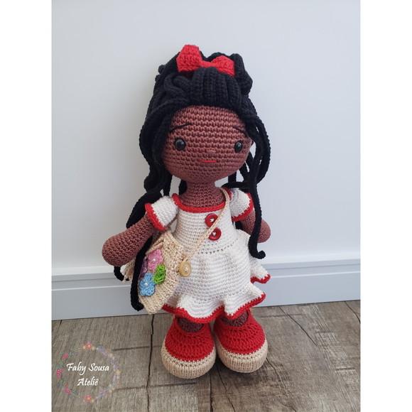 Boneca de crochê Aninha no Elo7   Ateliê Art & Cia Kids (106E964)   580x580