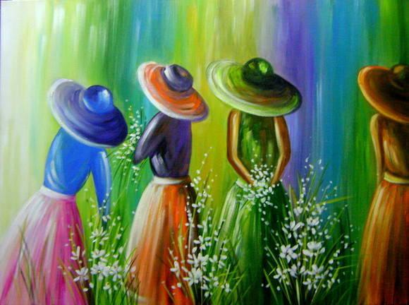 Pintura em tela 60x80 cod 423 quadros para decora o - Pinturas para pintar tela ...