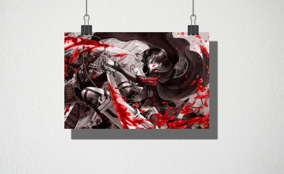 Poster A5 attack on titan