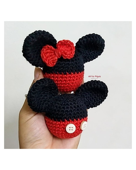 Awesome Minnie Mouse Bonnie Crochet Pattern By HavvaDesigns No.1 ... | 580x464