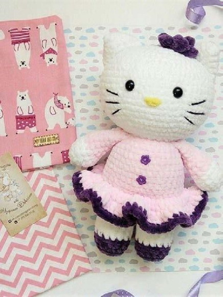 Amigurumi Hello Kitty Ballet Dancer - Video Tutorial. Hope I can ... | 580x436