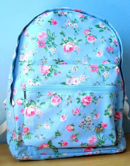 mochila floral ingles | Fifi | Elo7