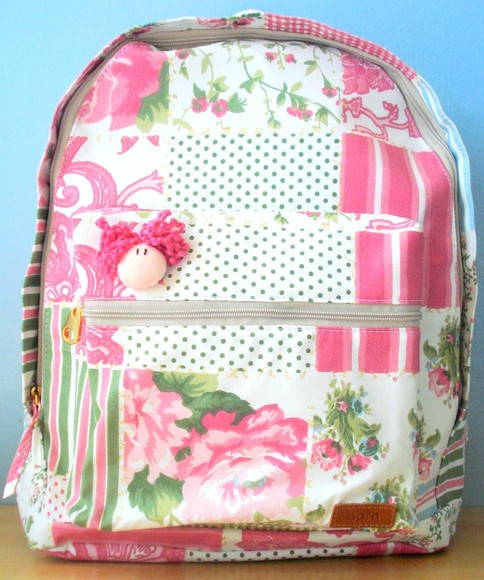 "mochila patchwork ""Princess"""