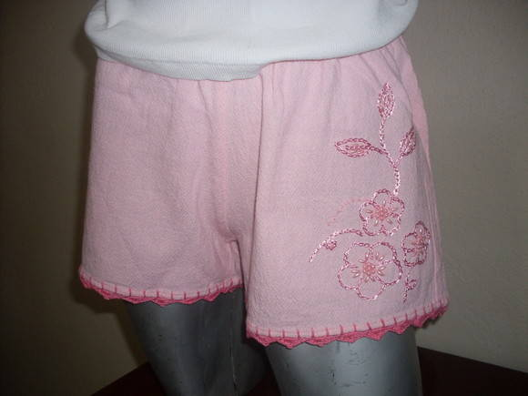 Short bordado adulto M 11