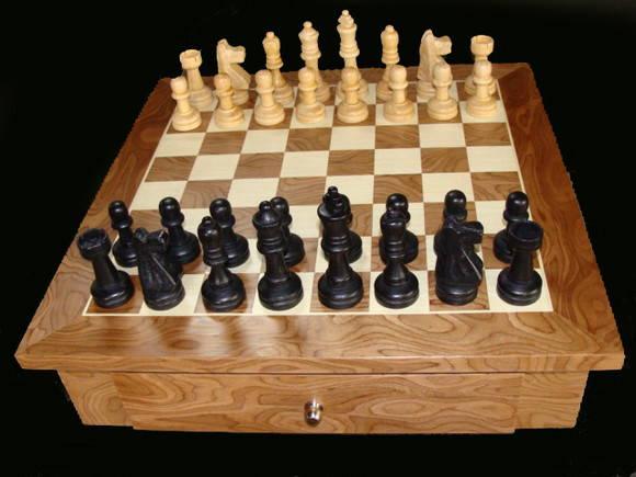79713515d12 Tabuleiro de xadrez e dama no Elo7