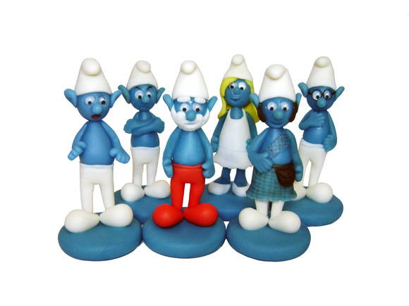 Toy Art - Smurfs