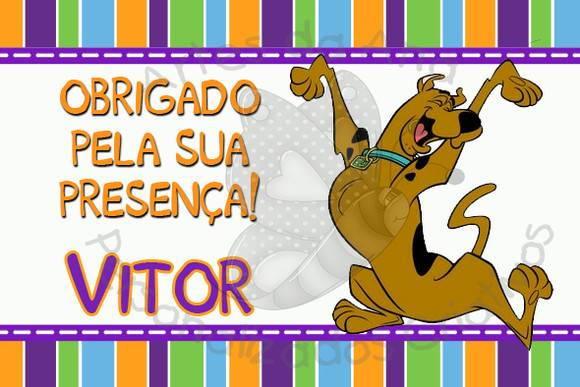 Scooby Doo Tag No Elo7 Artes Da Ana Personalizados Criativos