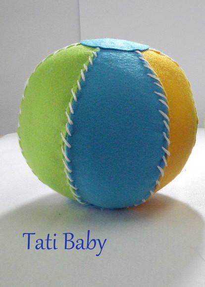 Bola de Feltro no Elo7 | Tati Baby (18457A)