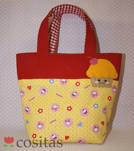 Kids bag Happy Cupcake