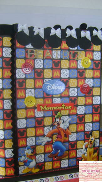 ÁLBUM DE FOTOS DISNEY