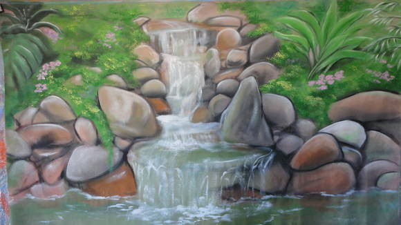 Painel Cachoeira
