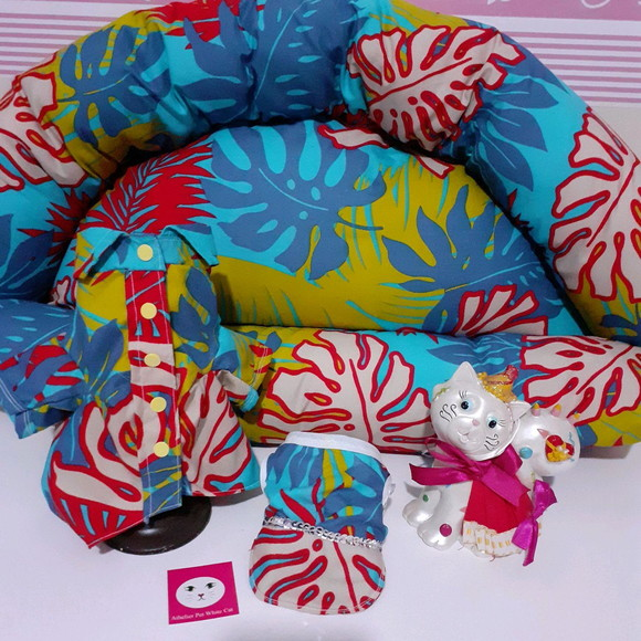 Kit Cama pet,camisa pet ,bone pet