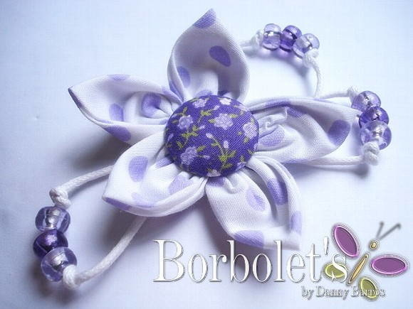 Broche - Lilac flower