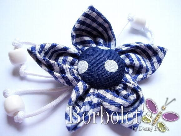 Broche - Blue Marine
