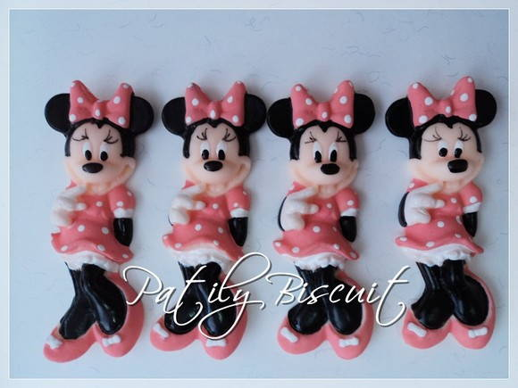 Minnie Aplique Biscuit