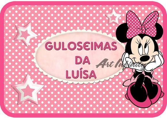 Artesanato Suely Mooca ~ Adesivo para marmitinha minnie rosa Studio Paper Personalizados Elo7