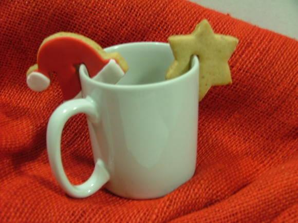 Enfeite De Xicara ~ Biscoito enfeite para xícaras Natal no Elo7 Biscoito& Arte (18B700)