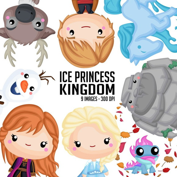 Kit Digital Ice Princess Kingdom