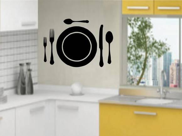 Aparador De Aliança Rommanel ~ Adesivos Decorativos Cozinha 14 no Elo7 Adesivos SR